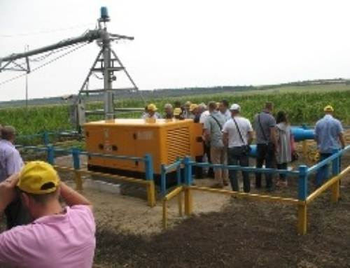 "Irrigation machines ""Fregat"" hold the future of irrigation agriculture!"