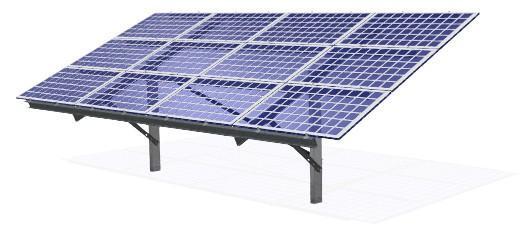 Система кріплення фотоелектричних модулів мод. 5812