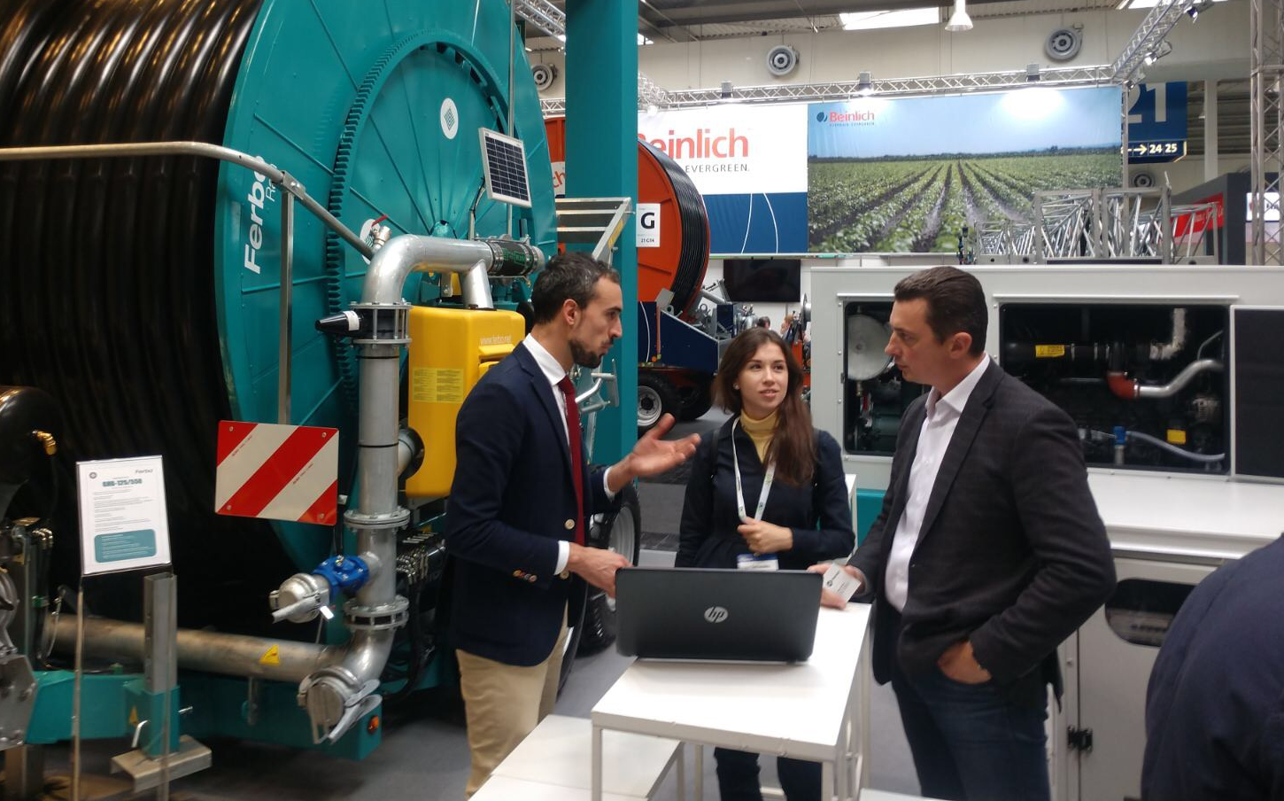 The delegation of The Plant Fregat has visited exhibition AgriTechnika-2019