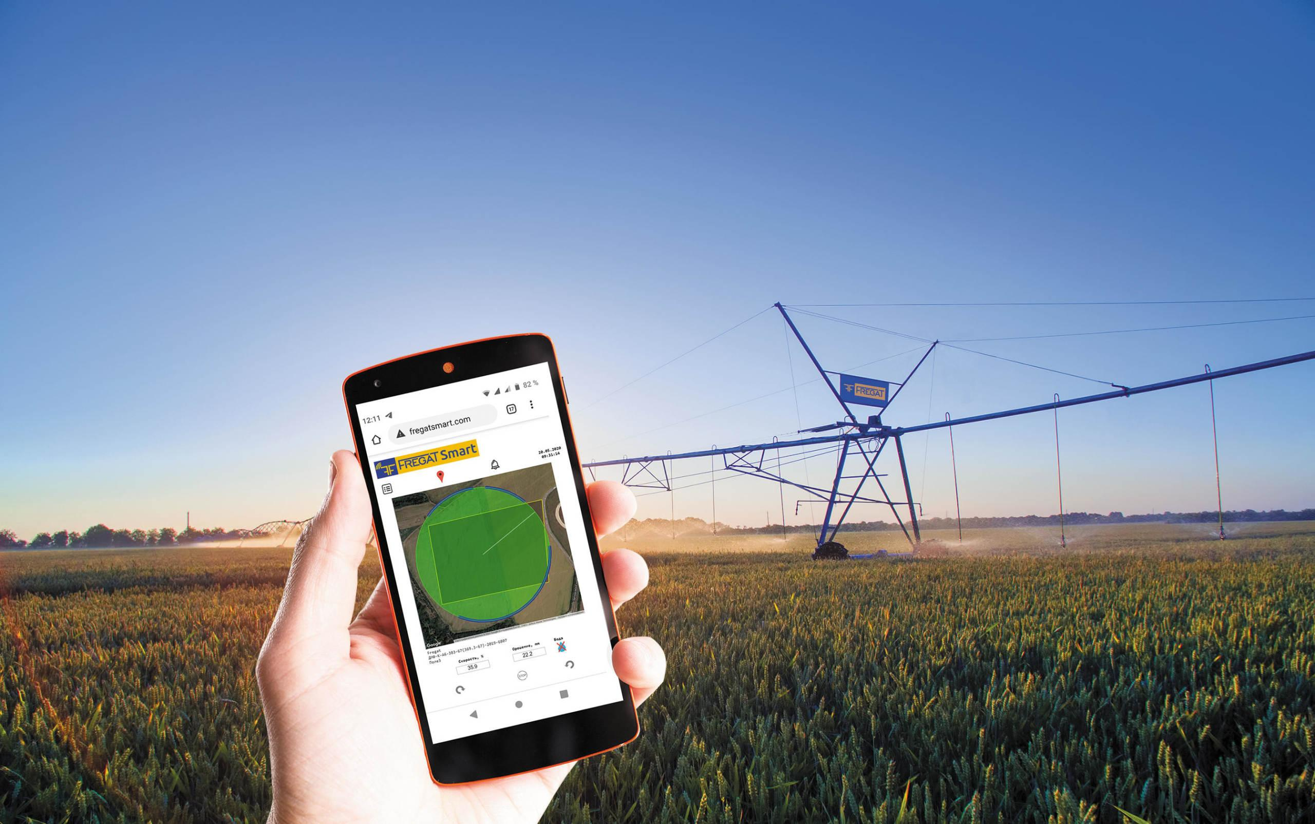 Now you can control irrigation from your smartphone!